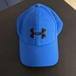 Men's blue large Under Armour hat